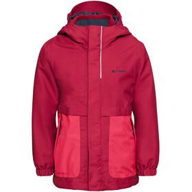VAUDE Campfire 3in1 Jacket Girls bright pink